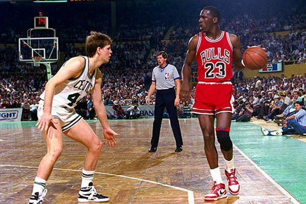 Michael Jordan vs Danny Anige