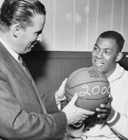 Bob Short and Elgin Baylor
