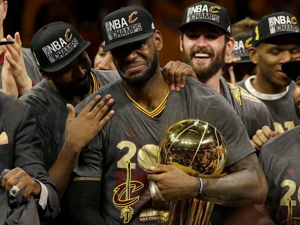 Cavaliers NBA Champs