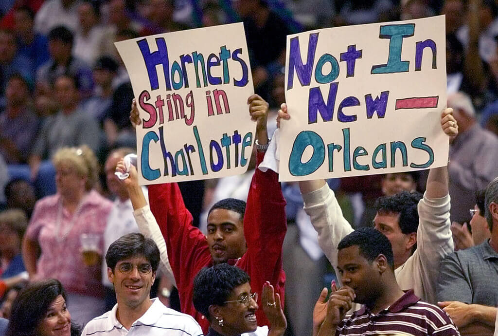 Charlotte Hornets - Leave for NO