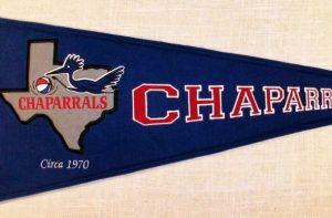 Dallas Chaparrals Pennant 1970
