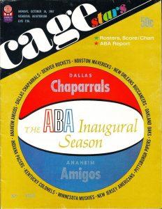 Dallas Chaparrals Program 1967
