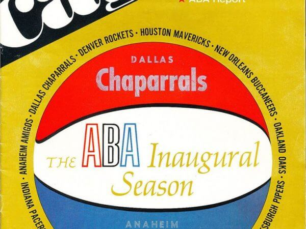 Dallas Chaparrals Program 1967