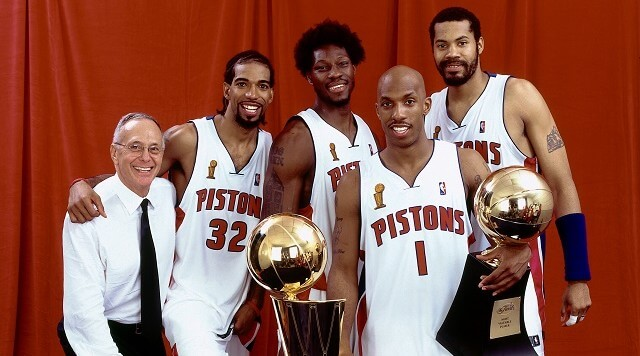 Detroit Pistons - NBA Champs 2004