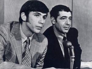 Geoffrey Petrie and Harry Glickman