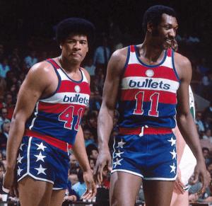 Hayes and Unseld - Washington Bullets