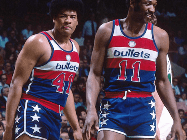 Hayes and Unseld - Washington Bullets