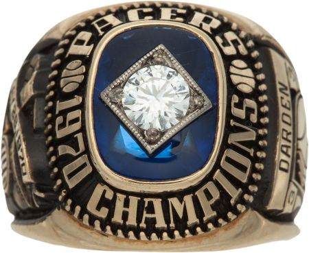 Indiana Pacers Championship Ring 1970