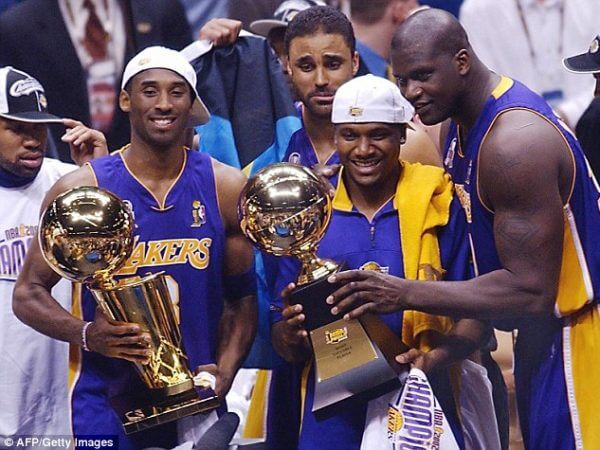 LA Lakers 2002 Champs