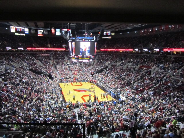 Memorial Coliseum - Portland Trailblazers