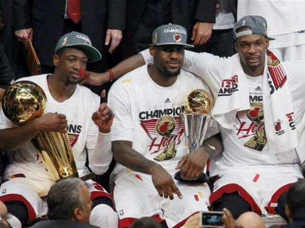 Miami Heat - NBA Finals Champs 2012