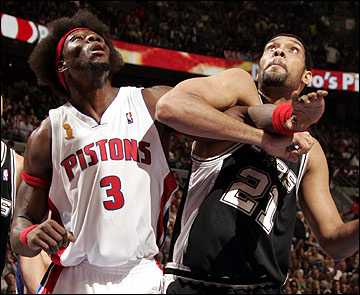 NBA Finals 2005 - Detroit vs San Antonio