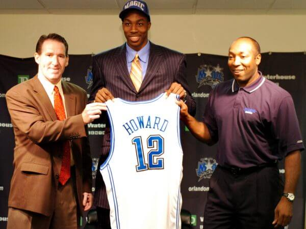 Orlando Magic Draft Dwight Howard