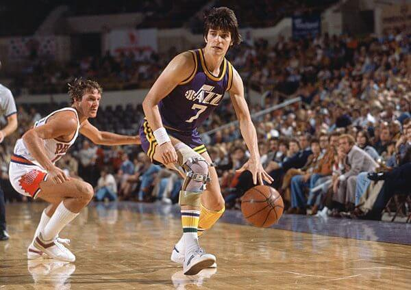 Pete Maravich - New Orleans Jazz