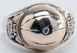 Philadelphia Warriors Championship Ring 1955