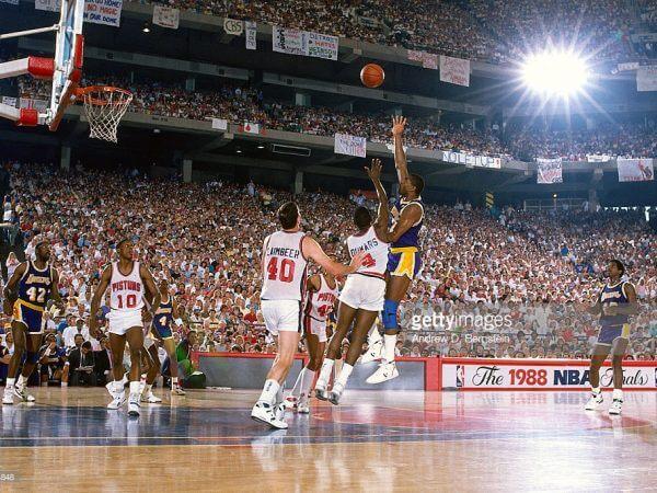 Pontiac Sliverdome - NBA Finals