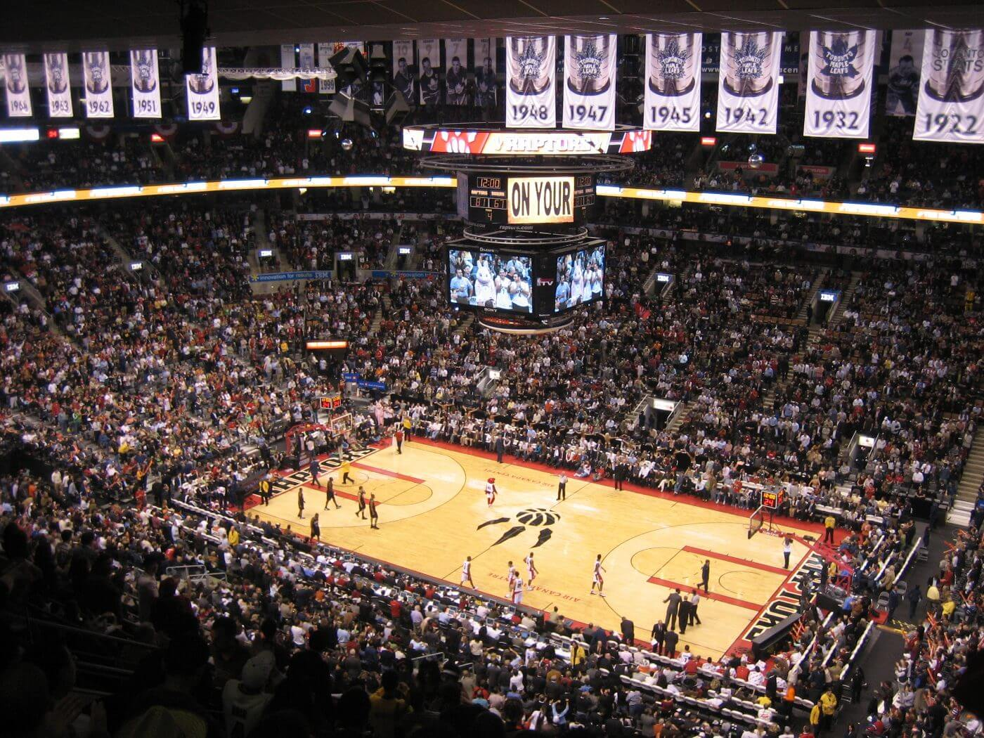 Raptors Air Canada Centre