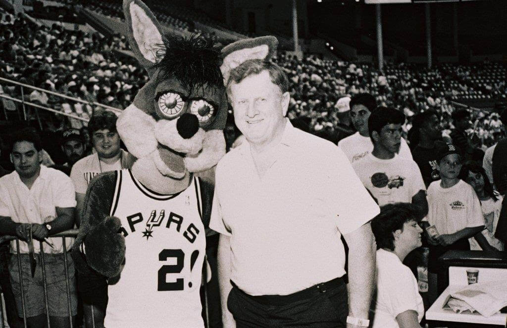 Red McCombs Spurs Team Owner