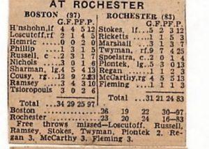 Rochester Royals 1957