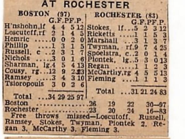 Rochester Royals 1957