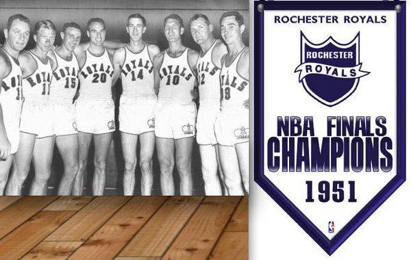 Rochester Royals NBA Champs 1951