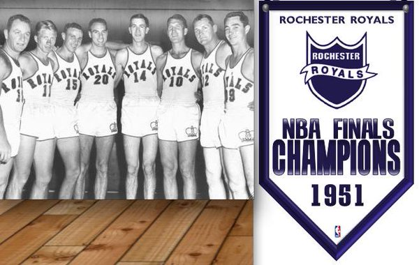 Rochester Royals NBA Champs 1951