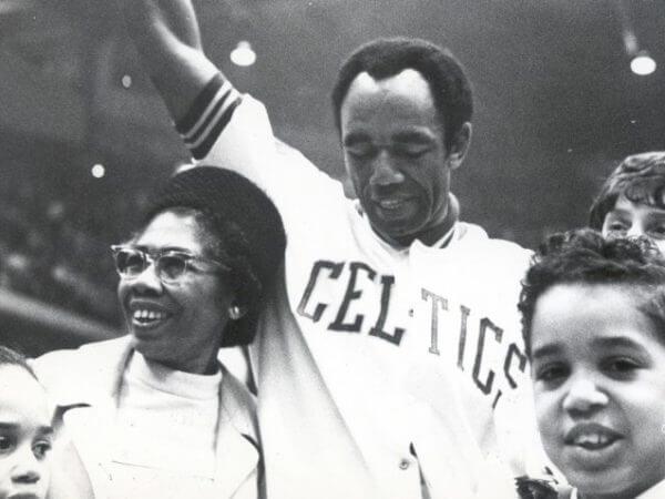 Sam Jones Boston Celtics 1965