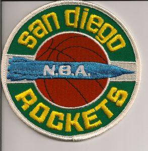 San Diego Rockets Patch 1967