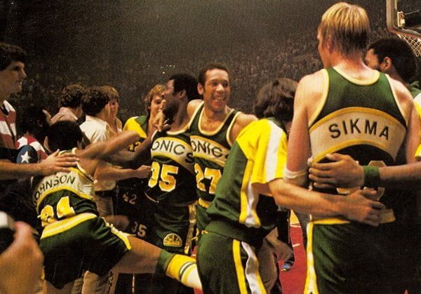 Seattle Sonics Champs 1979