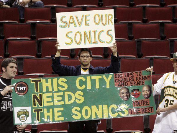 Seattle Sonics Poster 2008