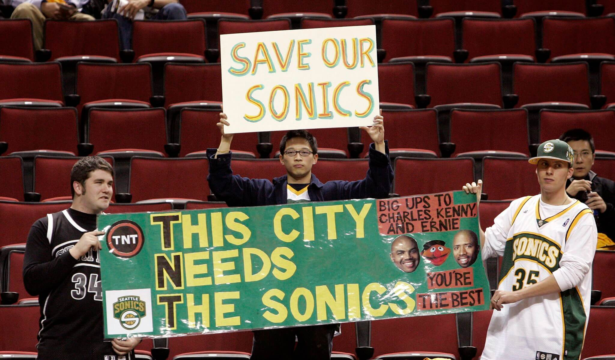 Seattle Sonics Poster 2008