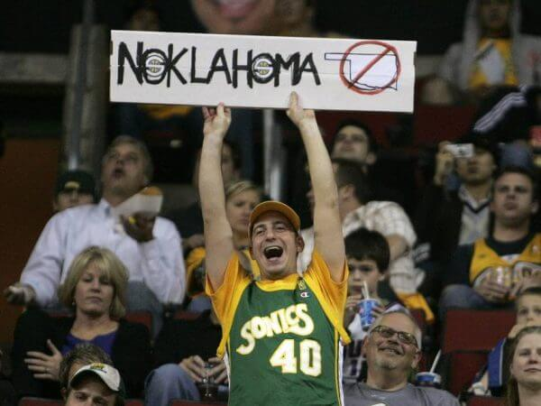 Seattle Sonics Relocate to OKC