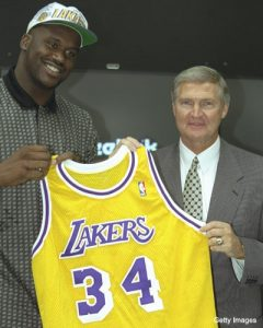 Shaq to Los Angeles
