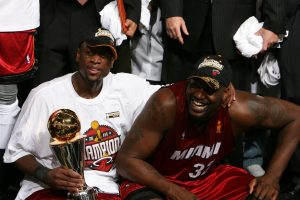 Miami Heat Shaquille O'Neal and Dwyane Wade, 2006 NBA Finals