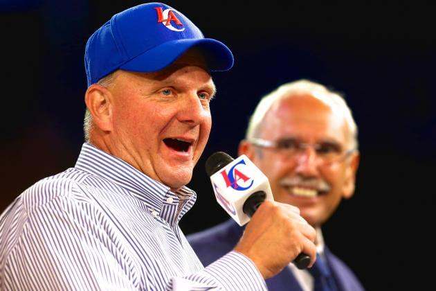 Steve Ballmer - Los Angeles Clippers