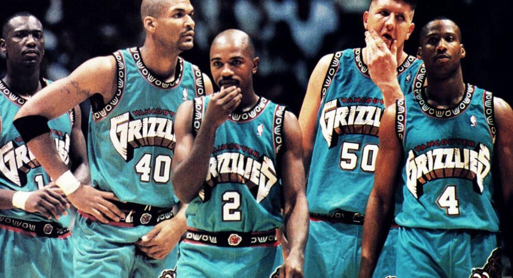 Vancouver Grizzlies 1995