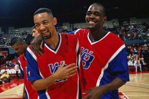 Webber and Howard - Washington Bullets