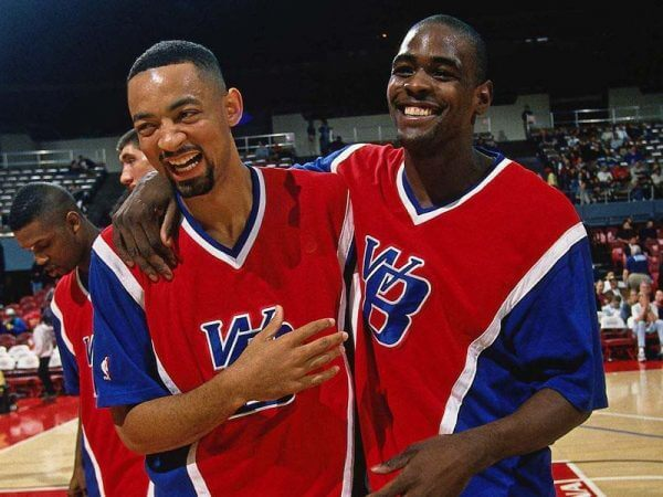 Webber and Howard - Washington Bullets