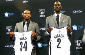 Brooklyn Nets - Pierce/Garnett