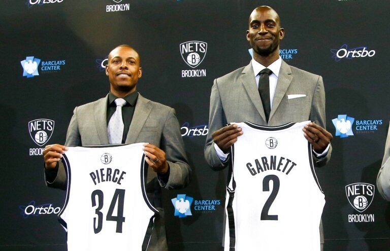 Brooklyn Nets - Pierce/Garnett