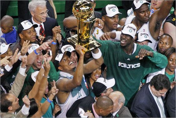 Boston Celtics Championship 2008