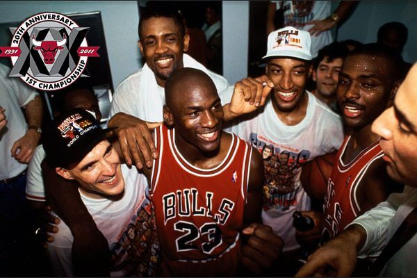 Finals 1991 Chicago Bulls