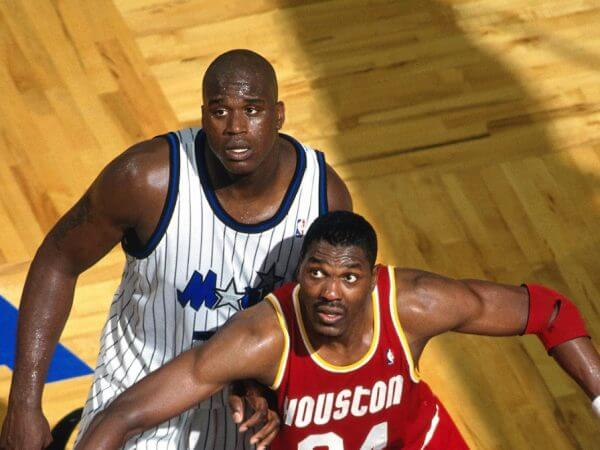 Hakeem and Shaq