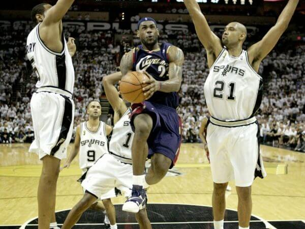 NBA Finals 2007 - Cavs vs Spurs
