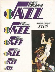 NBA Program - New Orleans Jazz 1974