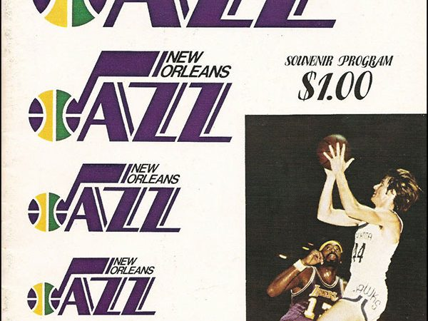 NBA Program - New Orleans Jazz 1974