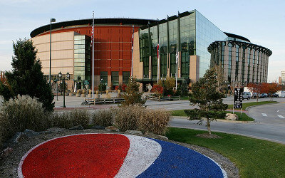 Pepsi Center in Denver Colorado