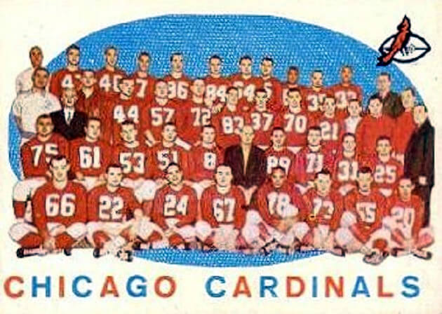 11-29--1959 Chicago Cardinals