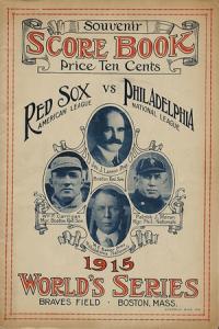 1915 World Series Boston Red Sox
