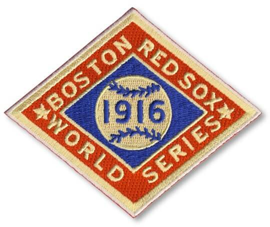 1916 World Series Boston Red Sox
